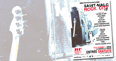 Affiche concert | Saint-Malo Rock City