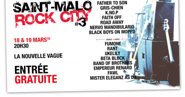 Flyer - Saint-Malo Rock City - 2016