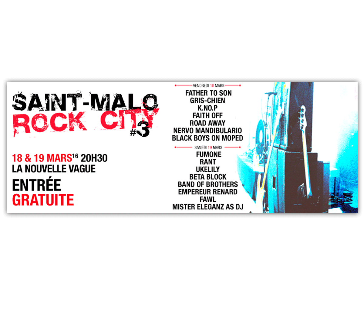 Promo Web- Saint-Malo Rock City - 2016