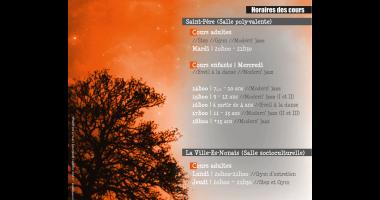 Plaquette Capucine - A5 - Rentrée 2016 - Verso