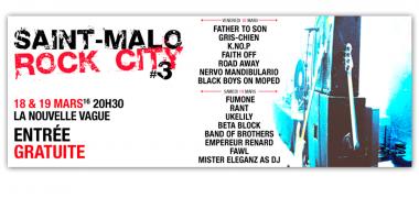Promo Web- Saint-Malo Rock City - 2016