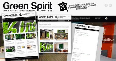 Site Internet | Green Spirit
